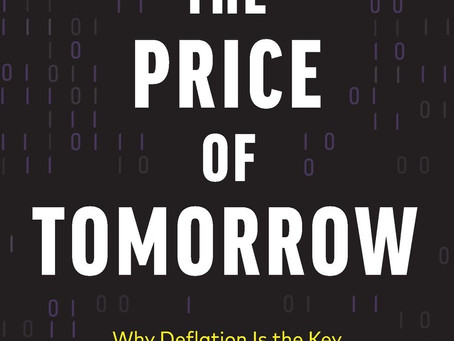 """Jeff Booth - Author of """"The Price of Tomorrow"""""""