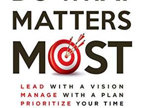 """Steve Shallenberger - Co-author of """"Do What Matters Most"""""""