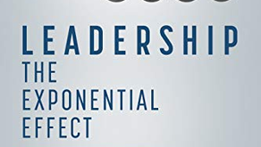 """Dr Andrew Brough - Author of """"Leadership - The Exponential Effect"""""""