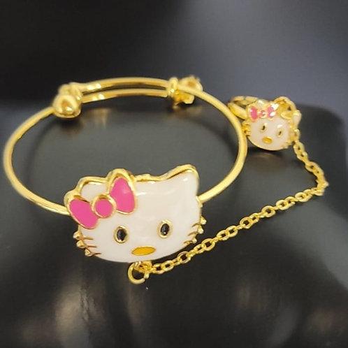 Josephine Kitty Bracelet