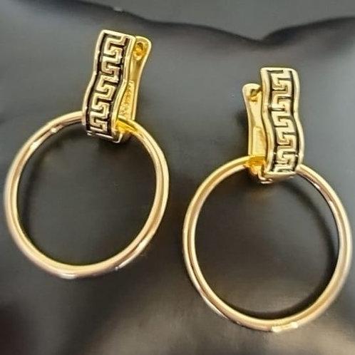 Badia Hoop Earrings