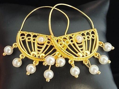 Lina Pearl Earrings