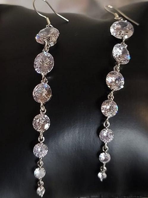 Mona Long Earrings