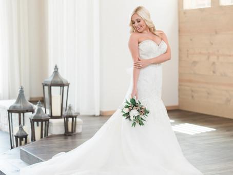 A Stunning Bride...