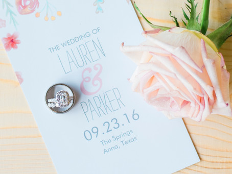 Lauren & Parker's Wedding   The Springs Anna, TX