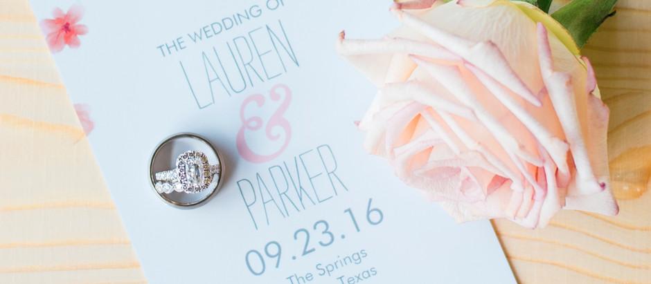 Lauren & Parker's Wedding | The Springs Anna, TX