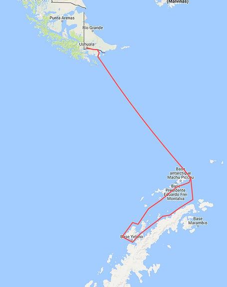 navigation Antarctique