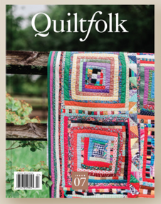 Featured in Quiltfolk, Louisiana edition