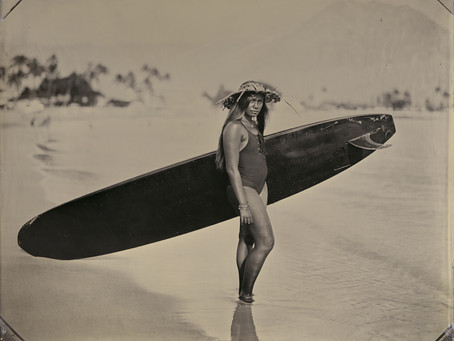 Joni Sternbach on portraiture of the ocean and its surfers