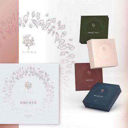 Times Tea Packaging by Pegasus Brand Design