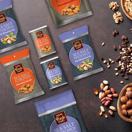 Home Fresh Mart Packaging by Pegasus Brand Design
