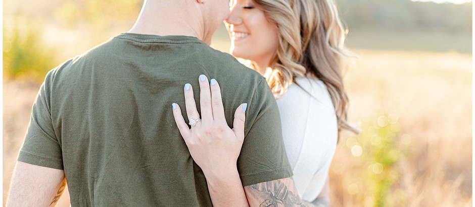 Ali + Kevin's Romantic Engagement