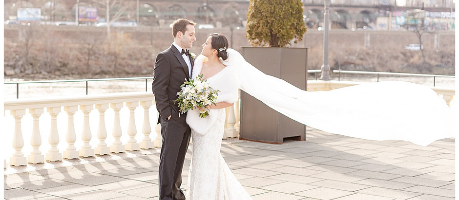A Water Works Winter Wedding