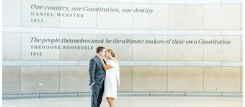 Megan + John | An Intimate Philly Wedding