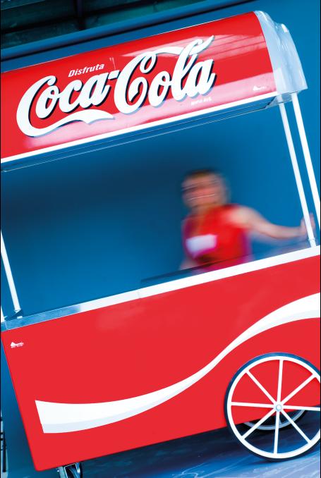 Carro CG Coca-Cola