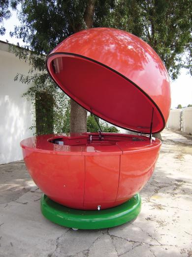 Kiosco Esfera Zumo