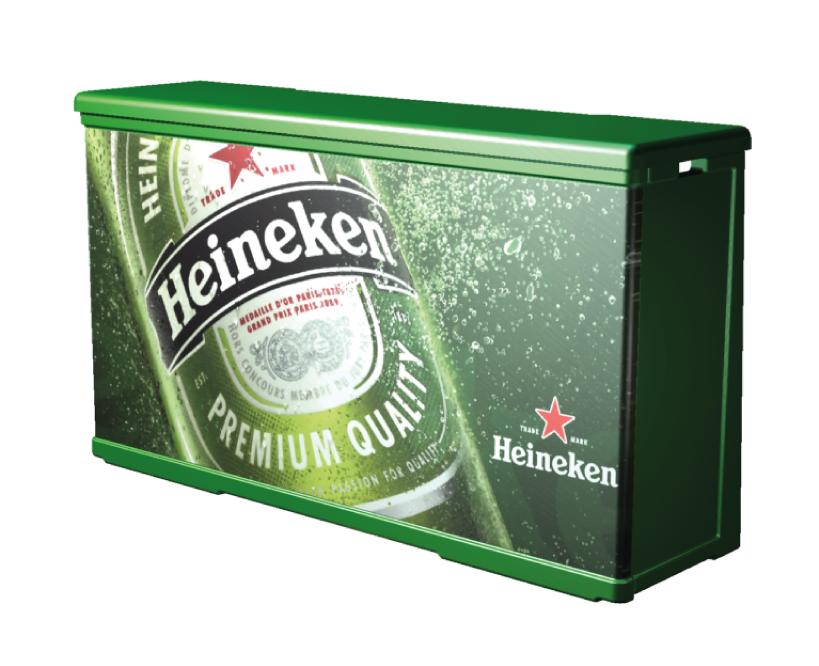 Mostrador P14 Heineken