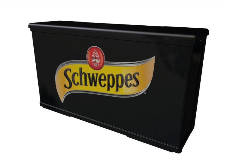 Mostrador P14 Schweppes