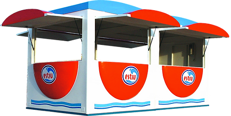 Kiosco Venta Ambulante Modular