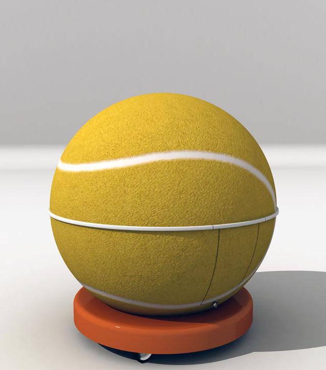 Kiosco Esfera Tenis