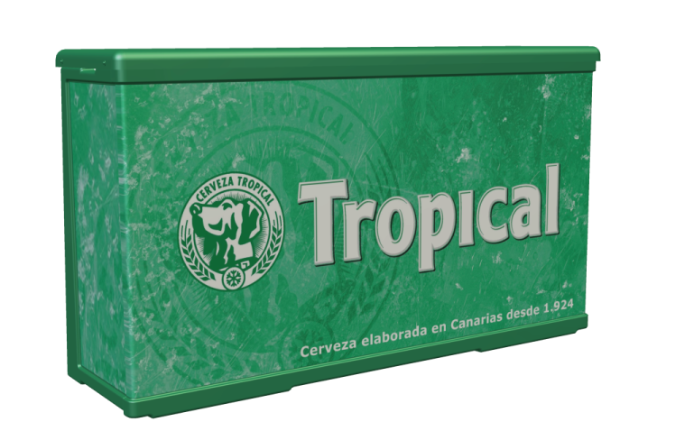 Mostrador P14 Tropical