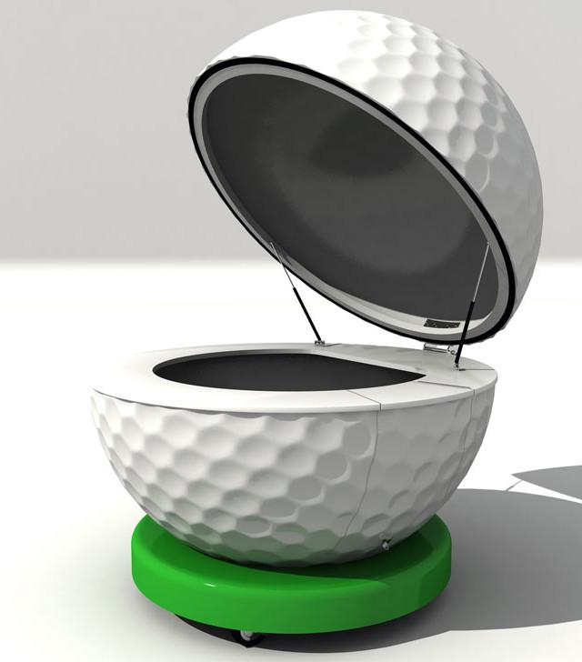 Kiosco Esfera Golf