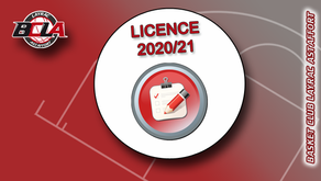 Licence 2020/21