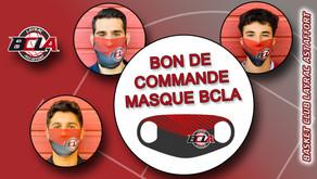 Bon de Commande masque BCLA