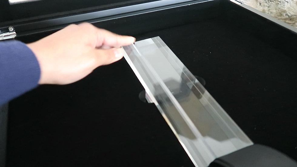 Image Art Mount and Crystal Box (optional)