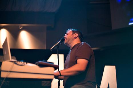 Matt at Piano in California
