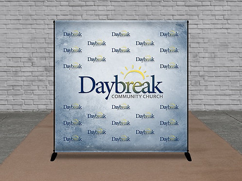 Photo Op Display - 10ft x 8ft Telescopic Backdrop Stand