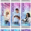 """Thumbnail: PICK 3 - Pillowcase Display - 36"""" x 90"""" with Hardware (Stand)"""