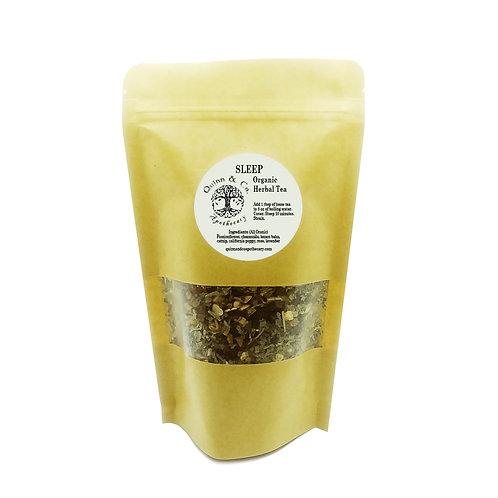 """Sleep"" Organic Herbal Tea blend 2.2 oz"