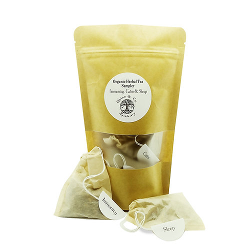 Sampler Organic Herbal Tea Blends