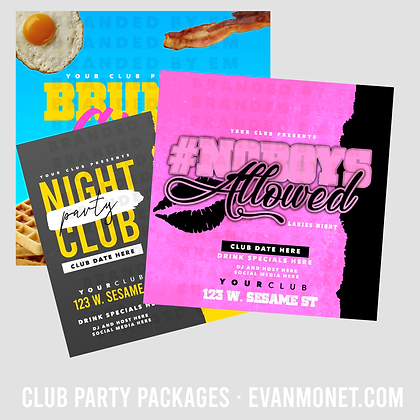 Club Party Package