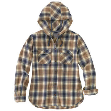Hooded Flannel Shirts
