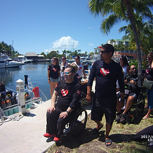 Adaptive Diving ASB Trip with Diveheart in Key Largo 2017