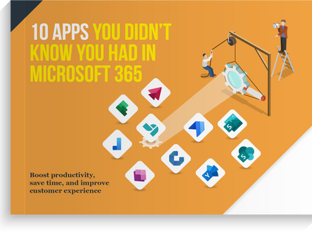 Latest eGuide - 10 apps you didn't know you had in Microsoft 365