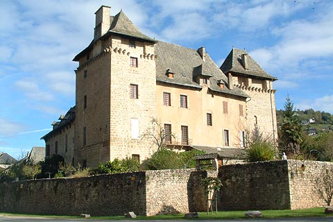 Le château, côté confluent