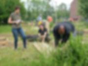 2019 Jardin des Agrions construction bac