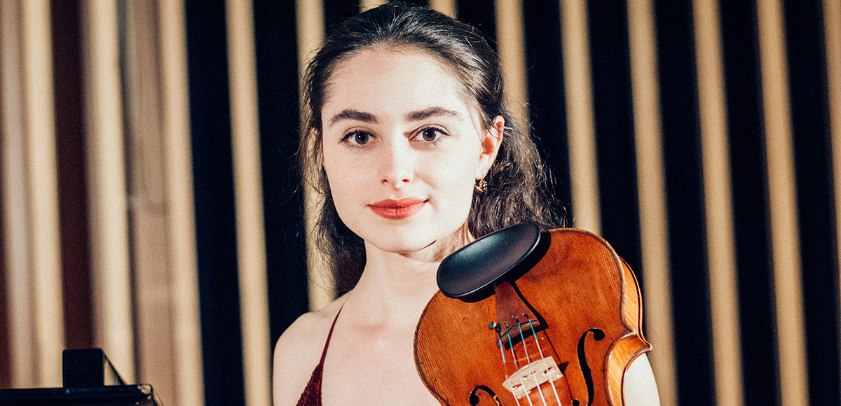 Interview: Violinist Esther Abrami On Bringing Classical Music To Young People