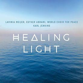 "Album artwork of Karl Jenkins ""Healing Light"""