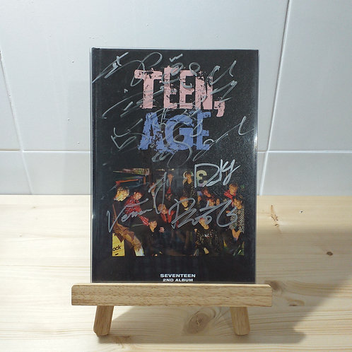 Seventeen - 2nd Album Teen, Age Autographed Signed CD (RS Ver.)