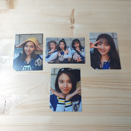TWICE - 2nd Mini Album Official Photocard x 4