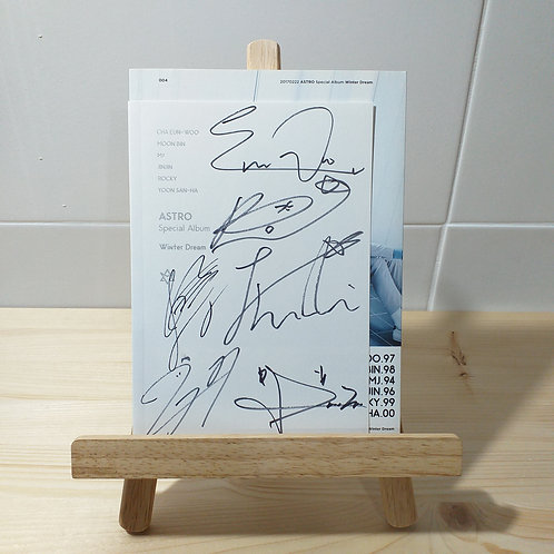 ASTRO - Winter Dream Autographed Signed Promo Album