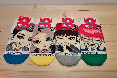 Seventeen - Kpop Socks