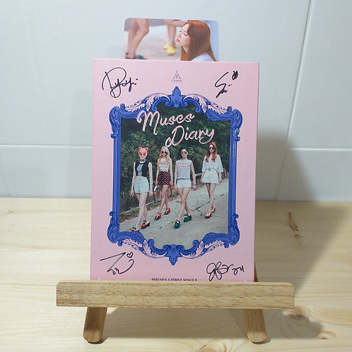 9 Muses A - 1st Single Muses Diary Autographed Signed Album