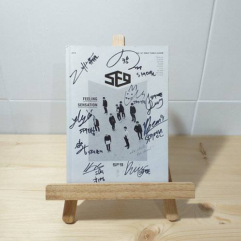SF9 - Feeling Sensation Autographed Signed Album