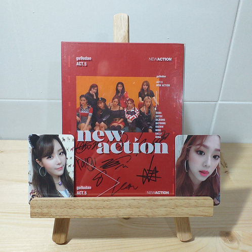 GUGUDAN - ATC5 [NEW ACTION] Signed Album