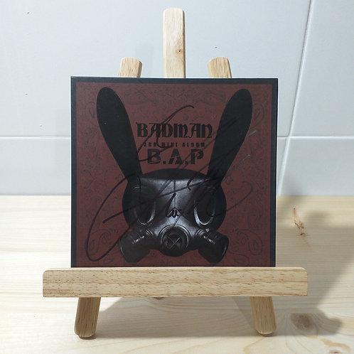 B.A.P - Badman Autographed Signed Album